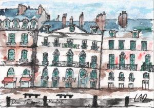 aquarelle-nantes-immeuble-penche